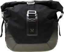 SW Motech Legend Gear Side bag LC2, 13.5 L, left hand, black / brown (for SLC side carriers)