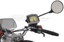 SW Motech GPS Holder for M8 / M10 mirror thread, black