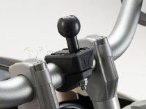 SW Motech 1´ ball kit, incl. M6 / M8 screw, clamp for handlebars Ø 22-28mm