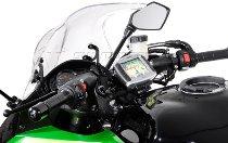SW Motech GPS mount on handlebar, black - Kawasaki Ninja / Z 1000 SX
