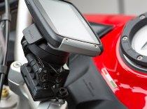 SW Motech Navi Halter am Lenker, schwarz - Ducati 950 / 1200 / 1260 Multistrada / S / Enduro / ...