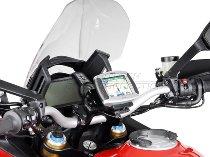 SW Motech Navi Halter am Lenker, schwarz - Ducati Multidrada 1200 / S (2010-2014)