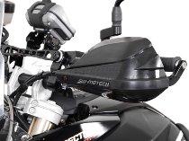 SW Motech BBSTORM hand protector kit, black - BMW F 650 / 800 GS / Twin, Kawasaki 1000 Versys,...