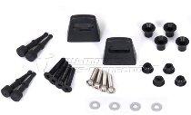 SW Motech Adapter kit for EVO pannier racks, for 2 Givi / Kappa Monokey cases