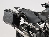 SW Motech TRAX ADV aluminum case complete system, black, 37 L - Honda VFR 800 X Crossrunner