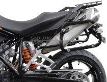 SW Motech EVO Pannier rack, black - KTM LC8 950 Supermoto, 990 SM / R / T