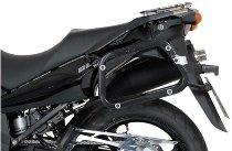 SW Motech EVO Pannier rack, black - Suzuki DL 650 V-Strom (2004-2010)