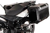 SW Motech EVO Pannier rack, black - Suzuki DL 650 V-Strom (2012-2016)