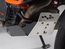 SW Motorschutz Schwarz / Silber. KTM 1190 Adventure / R (13-).