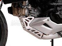 SW Motorschutz Silber. Ducati Multistrada 1200 / S (10-14).