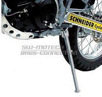 SW Seitenständer Grau. Reifenpaarung vorn 21´/hinten 18´.
