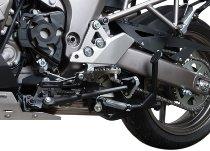 SW Seitenständerfuß Schw./Silber. Kawasaki Versys 1000 (12-14).