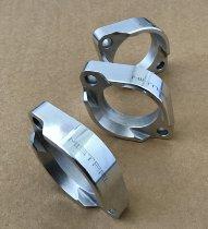 Mistral Alu flanges for manifolds T3 Cal./Cali.2/T5/1000SP/SP2/S