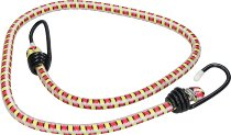 Rubber strap 2 hooks, colored, 100cm