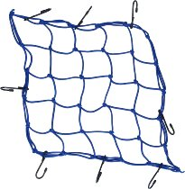 Luggage net 8 hooks, blue, 40 X 40 cm