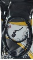 Spiegler Brake hose kit Moto Guzzi 1000 S 4 parts black shrink hose