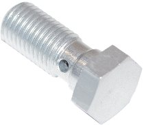 Spiegler Banjo bolt, alu, short (L=20mm) M10x1.25 silver
