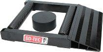 SD-TEC Drehhilfe für das Hinterrad Linea nero, schwarz - universal verwendbar