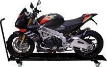 SD-TEC Motorrad Rangierschiene mit Wippe, schwarz
