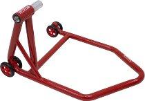 SD-TEC Montageständer Linea rossa 28,5 mm Einarmschwinge, links, rot - Triumph, Honda, KTM