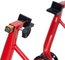 SD-TEC Assembly stand for rear wheel, universal, red