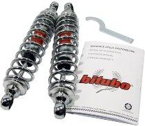 Bitubo Shock absorber kit chrome spring - Moto Guzzi Le Mans 1-3, 1000 SP, 850 T3, V50, V65 Lario...