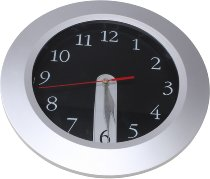 UFI Clock, silver/white