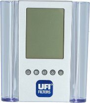 UFI Pencil holder with LC-Display (time, date, temperature)