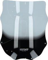 MRA fairing screen, form T, clear - Moto Guzzi Quota 1000/1100 ES