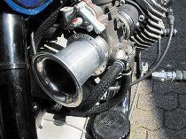 Intake funnel aluminium 75 mm M48 x 1,25 racing