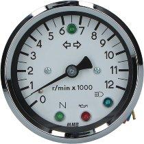 MMB DZM elektr. 80mm 1:1 LED weiß/schw -12.000U/m