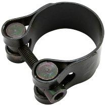 Exhaust clamp 32-35 mm black