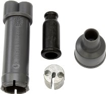 Tommaselli Gas distributor, complete, plastic, black, - Moto Guzzi