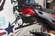 Evotech License plate holder, black - Ducati 950 / 1200 Multistrada / Enduro / Pikes Peak