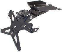 Evotech License plate holder, black - Ducati 821 / 939 Hypermotard / SP, Hyperstrada