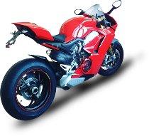 Evotech Kennzeichenhalter, schwarz - Ducati 1100 Streetfighter / Panigale V2 / V4 / S