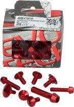 Evotech Panel screws, red - Ducati 821 / 939 Hyperstrada