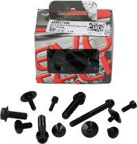 Evotech Panel screws, black - Ducati 821 / 939 Hyperstrada