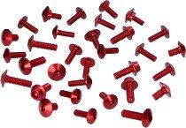 Evotech Panel screws, red - Ducati 848 / 1098 Streetfighter