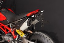 Evotech License plate holder, black - Ducati 950 Hypermotard / SP