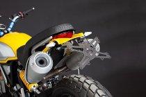Evotech License plate holder, black - Ducati 1100 Scrambler