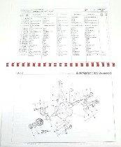Cagiva Spareparts catalog - 350, 400, 600, 650 Elefant