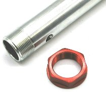 Ducati axle, red - Monster 620 / 695 / 800 / 1000, ST2-ST4 (S)