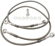 Spiegler Front brake hose kit 2 pipes - Ducati 750 SS 91-97