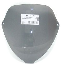 MRA fairing screen, form T, smoky grey, with homologation - Ducati Monster S2/S4 S2R/S4R 2000-