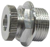 Ducati Aluminium screw alternator cable, silver - 400-900 SS, 748-998, bevel drive...