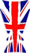Print Tankpad gold engineering, british flag, 215x125mm