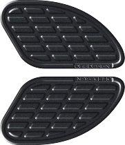 Print Kneepad-kit bumps, leather black, 165x95mm
