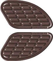 Print Kneepad-kit bumps, leather brown, 165x95mm