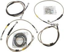 Fren Tubo brake hoses set, type 1 - Ducati 1200 Diavel / Carbon